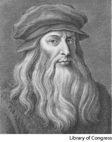 Leonardo de Vinci was born