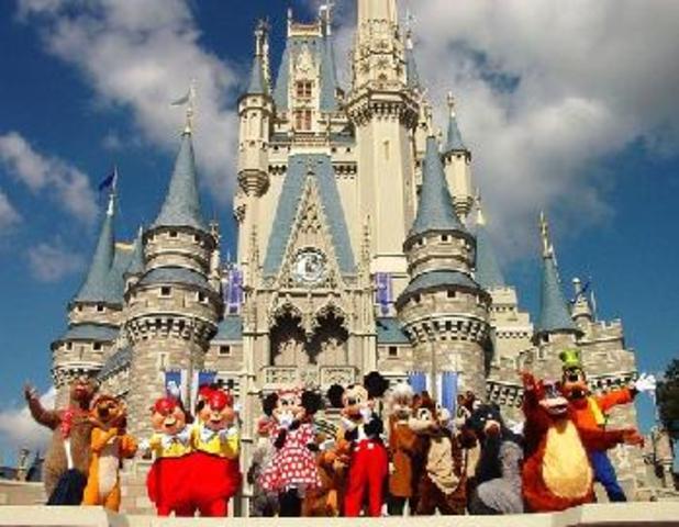 Walt Disney's dream came true