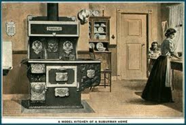 The invention of the Iron Kitchen Stove
