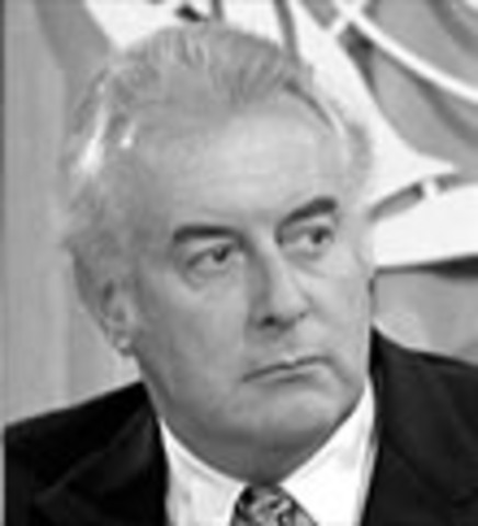 Gough Whitlam becomes Prime Minister