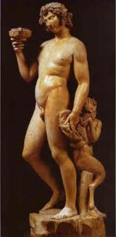Bacchus the Roman God of Wine