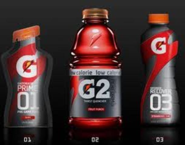 Introduction of Gatorade G-Series