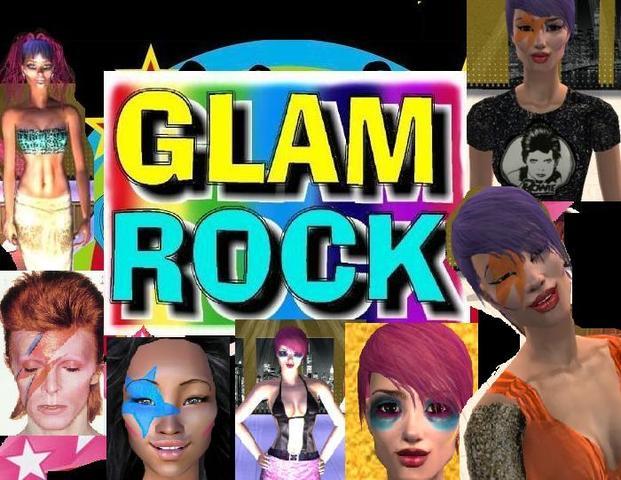 Naixement del Glam Rock