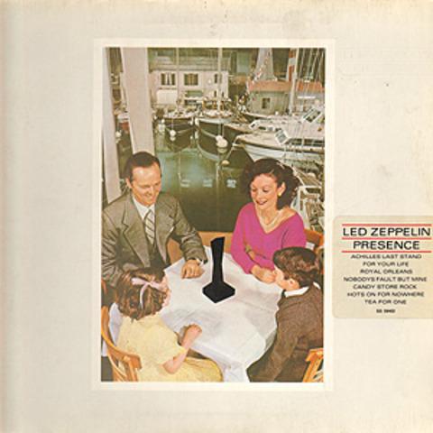 Se publica el séptimo álbum de Led Zeppelin, «Presence».