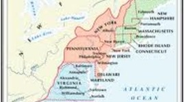 Growth of the Thirteen Colonies (Hess and Hayes) timeline