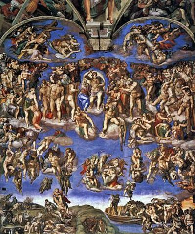 Sistine Chapel is finished being painted
