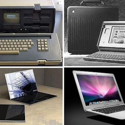 Laptops timeline