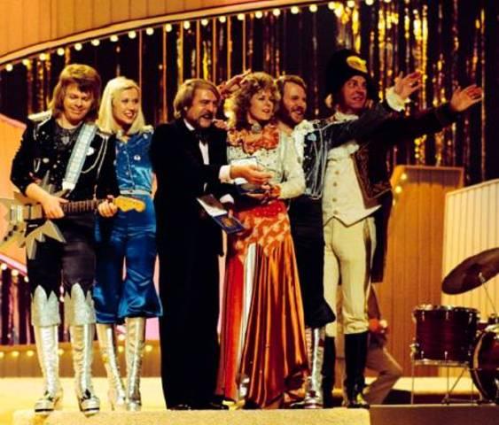 ABBA guanya el festival d'eurovisió