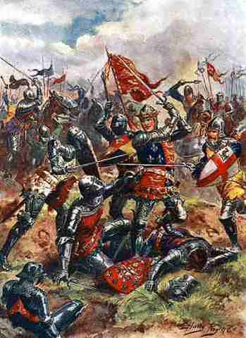Hundred years war ends
