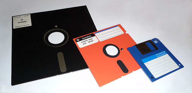The 5.25' and 3.5' Floppy Drive