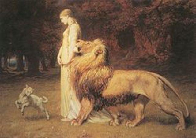 """Edmund Spenser writes """"The Faerie Queen"""