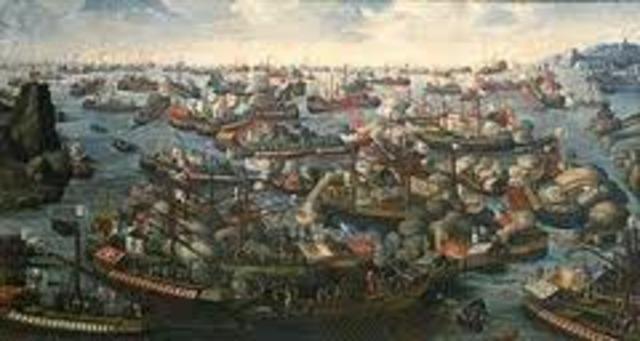 Battle of Lepanto.