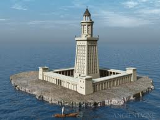 Lighthouse of Alexandria is gone