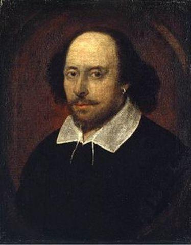 Shakespeare is born