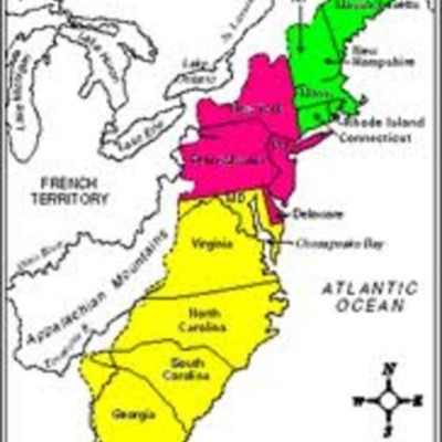 Growth of the Thirteen Colonies from 1600-1800 (AshP) timeline