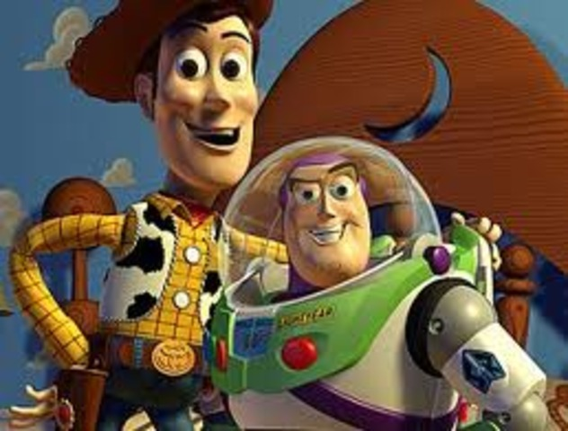 Toy Story, the first coputer generated movie