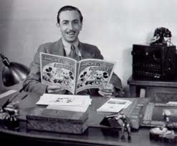 Walt Disney dies 9:35a.m from Acute Circulatory Collapse