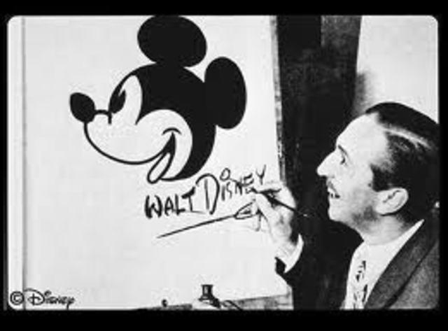 MickeyMouse was Walt first cartoon