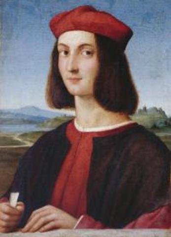 Birth of  Raffaello Sanzio da Urbino (Raphael)