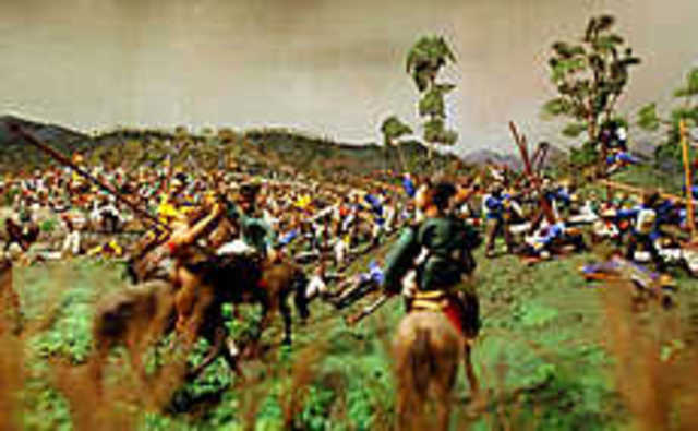 La batalla del pantano de Vargas