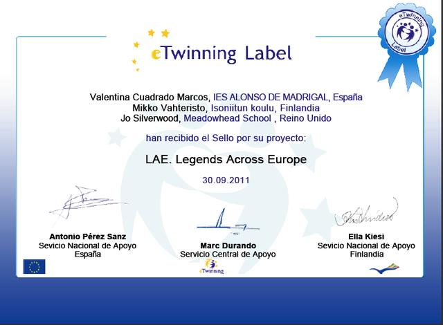 eTwinning Label