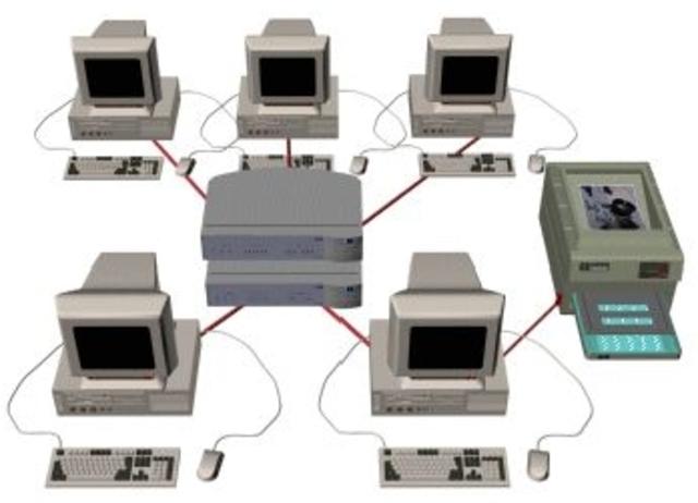 Primera conexion entre computadoras