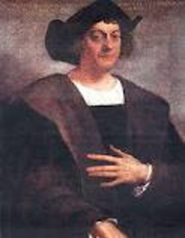 Christopher Columbus Arives to the Americas