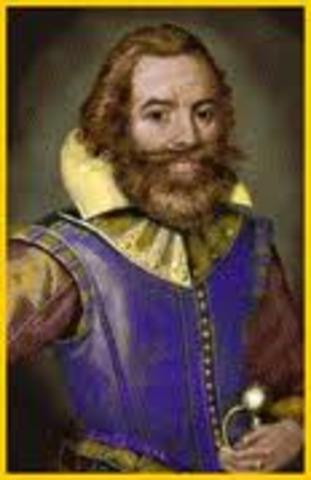 John Smith takes charge of Jamestown