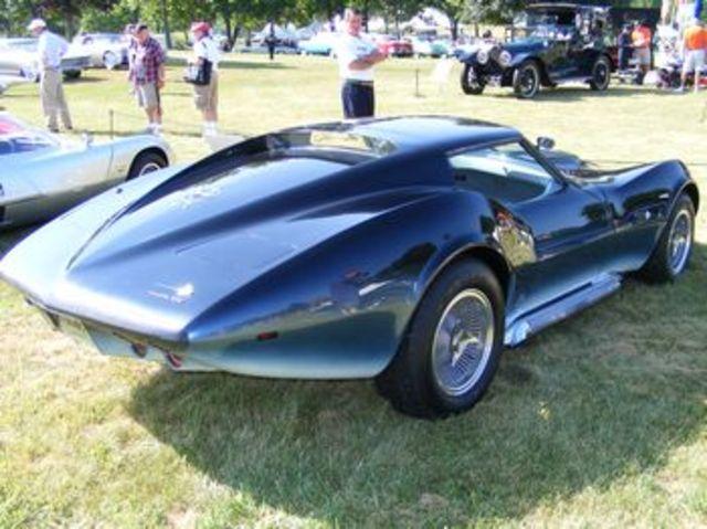 Manta Ray Corvette Concept