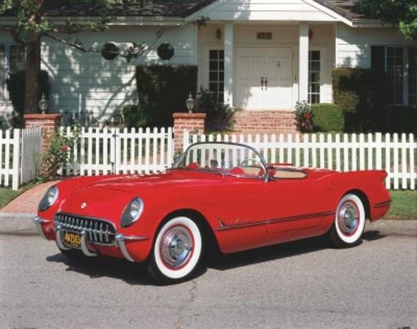 C1 1955 Corvette