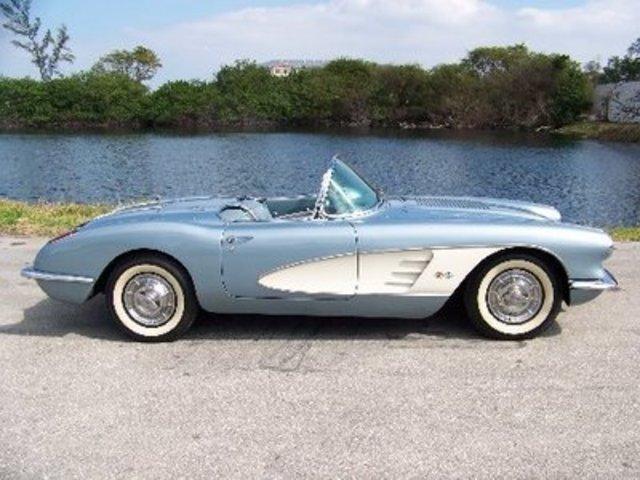 C1 1958 Corvette