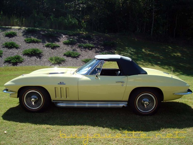 C2 1966 Corvette Sting Ray
