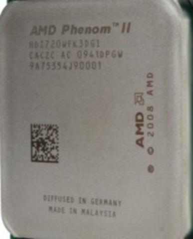 Modelo: AMD Phenom II X2 555 Black Edition VS Core i3 540