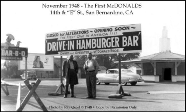 McDonald's opens
