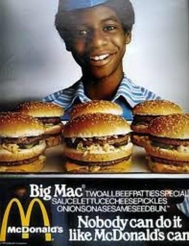 The Big Mac is introduced