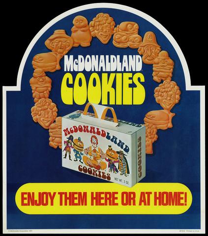 McDonald's Cookies