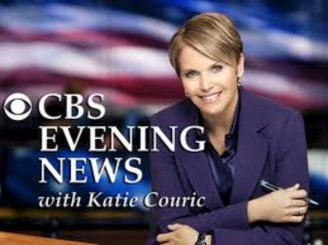CBS Evening News Anchor