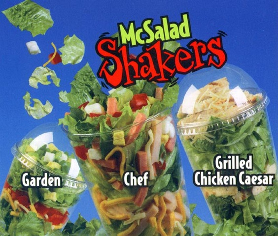 McDonald's Shakers