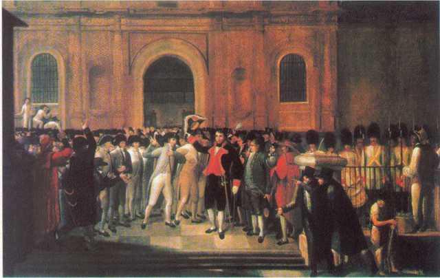 1810 virreinato de nueva granada