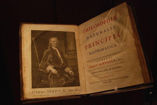 """Isaac Newton Publishes The """"Principia"""""""