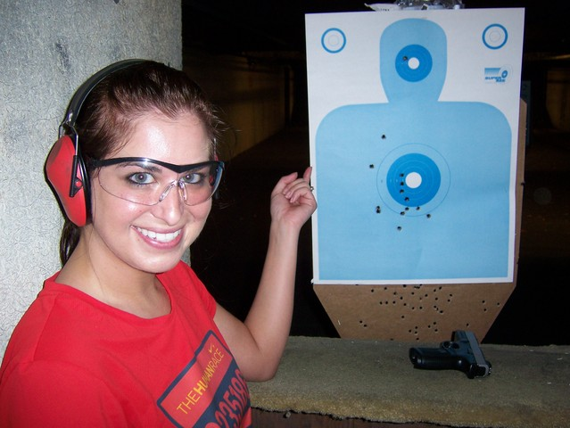 87. Go to a shooting range