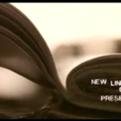 New Line Cinema Presents. 3 secons in. Shows the company name timeline