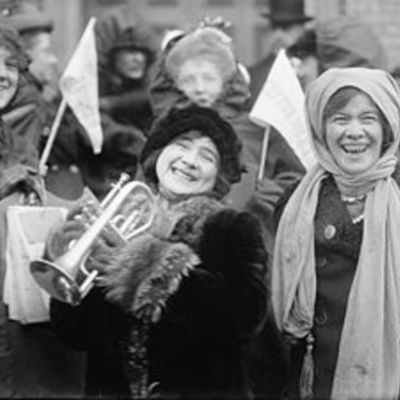 WOMEN GET THE RIGHT TO VOTE! timeline
