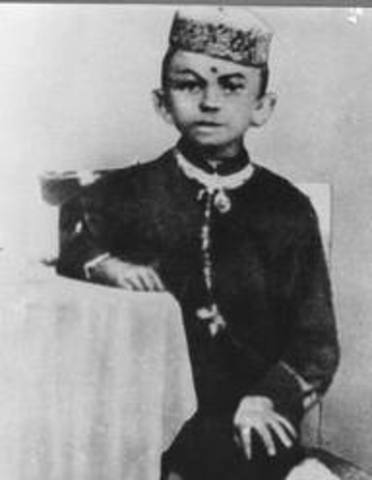 Gandhi Attended primary school in Rajkot, where his family moved