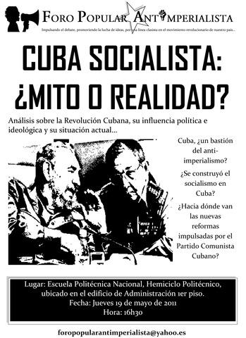 Socialismo ¿mito o realidad?