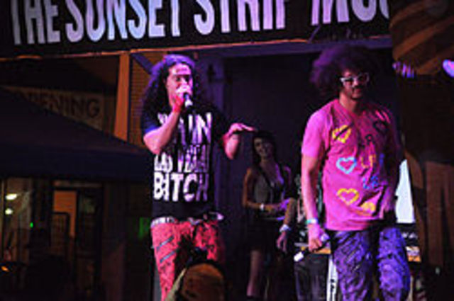 LMFAO's first single released
