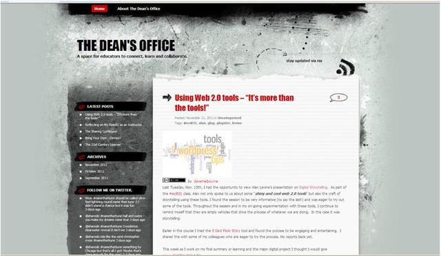 "The ""Dean's Office"" is open!"