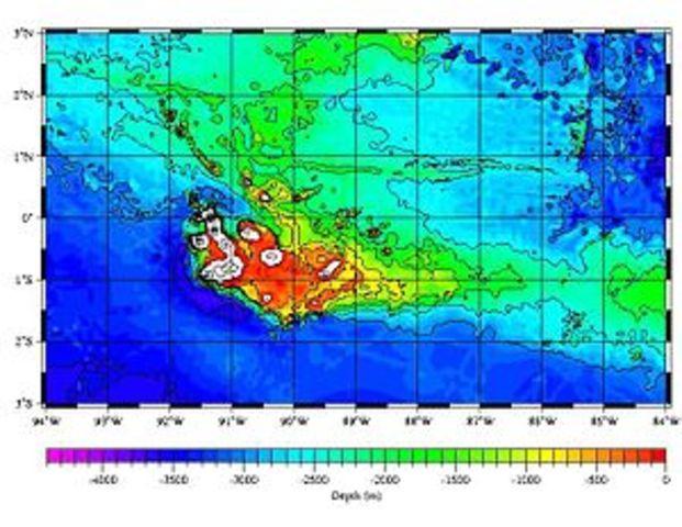 Sea Floor Elevation Map : Plate tectonic theory timeline timetoast timelines
