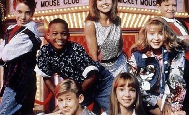"Briney Spears  participa en ""Mickey Mouse Club"""