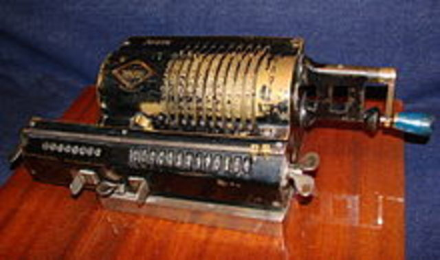 Первый механический калькулятор